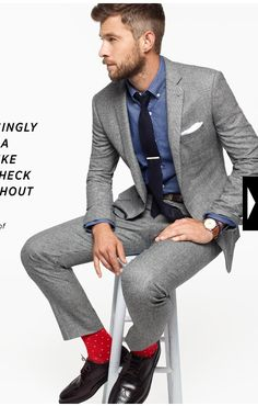 1000  images about Suit Ideas on Pinterest | Grey Suits, Slim Fit