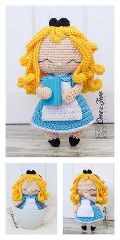 Amigurumi Pink Little Layd Free Pattern – Amigurumi Free Patterns And Tutorials Crochet Crafts, Crochet Dolls, Free Crochet, Amigurumi Patterns, Amigurumi Doll, 4 Ply Yarn, Mohair Yarn, Hello Dear, Tricot