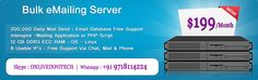 Mailing Server is preinstalled with Centos OS, cpanel and EXIM Mail Transport Agent to send/get messages and Squirellmail Webmail Client to empower you to check messages through your program. Messaging Server is a Low Cost Mass Mail or Bulk Email Server designed and secured to only send your bulletin messages. It incorporates a Dedicated IP which is mapped to your area name and we setup reverse DNS (which guarantees that you are the selective holder of the Email Server).