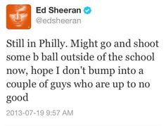 Yeess I live near philly!! Only like 20 minutes away! ED HERE I COMMEE!!