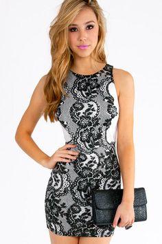 Jamila Lace Print Dress $46 at www.tobi.com    WANT THIS!!!
