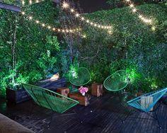Tropical Patio | Landscape Ideas | Acapulco Chair | Mid-Century Modern | Furniture Design | Home Decor