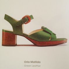 ORLA KIELY FOR CLARKS PREVIEW | WHAT SHE SAID
