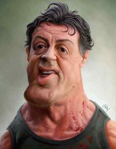 Sylvester Stallone   #charicature #celebrity