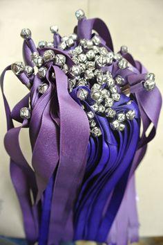 Ribbon Wands : Easy DIY for any party or wedding – Odds & Hens : Ramblings. Ribbon Wands, Diy Ribbon, How To Make Ribbon, How To Make Diy, Princess Birthday, Princess Party, Diy Wedding Wands, Wedding Cakes, Barefoot Wedding