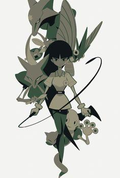 Sabrina Psychic Pokémon