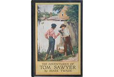 The Adventures of Tom Sawyer by Mark Twain. Illustrated by Worth Brehm. New York: Harper Brothers. 1910. Originally published in1875. The completebook with very nice illustrations. In very good condition. 321 pages.