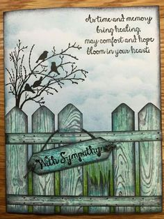 Sympathy Quotes, Sympathy Cards, Serene Silhouettes, Paint Cards, Bird Cards, Get Well Cards, Animal Cards, Card Sketches, Masculine Cards