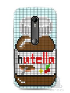 Capa Moto G3 Nutella #3 - SmartCases - Acessórios para celulares e tablets :)