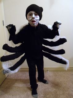 Kids Spider Costume from YouAndTheKids.com.