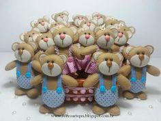 Ursinhos e ursinhas - Chaveirinho
