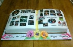 Picture Book 80th Birthday Cake
