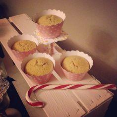 Cup cakes al burro di arachidi