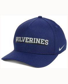 Nike Michigan Wolverines Local Dna Verbiage Swoosh Flex Cap