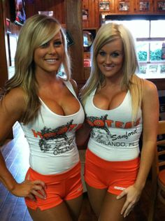More hot Blond Hooters Girls