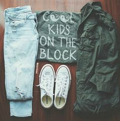 Daily New Fashion : KIDS ON THE BLOCK :)