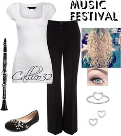 """""""Music festival"""" by callico32 ❤ liked on Polyvore"""