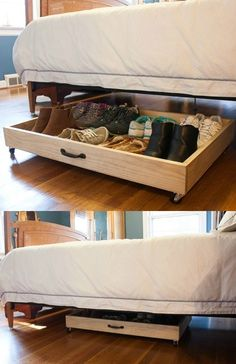 creative bedroom storage bedroom storage idea bedroom ideas storage bedroom decor storage storage ideas bedroom bedroom diy storage bedroom storage diy organization ideas for kids room Studio Apartment Storage, Apartment Furniture, Diy Furniture, Furniture Chairs, Luxury Furniture, Bedroom Storage For Small Rooms, Diy Shoe Storage, Craft Storage, Shoe Rack For Small Closet