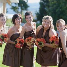 Bridesmaids- Photo by Tammy Swales  www.stacykfloral.com
