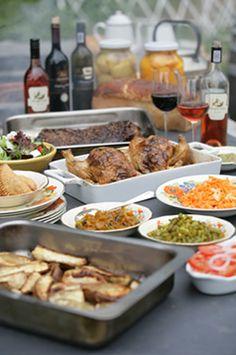 Asado at Knorhoek Towerbosh restaurant in Stellenbosch - Argentinian Barbeque