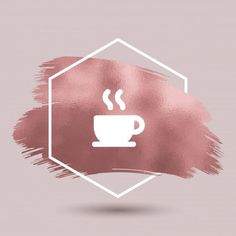 Coffee Icon Icons from GraphicRiver Coffee Instagram, Instagram Logo, Instagram Story, Rose Gold Highlights, Story Highlights, Coffee Icon, Fitness Icon, Wood Logo, Hijab Cartoon