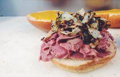 101 Best Food Trucks in America 2015 Meatloaf Sandwich, Balsamic Onions, Best Food Trucks, Tomato Relish, Meal Prep, Food Prep, Catering Business, Seasonal Food, Cheesesteak
