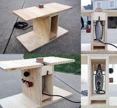 Lixadeira de fuso DIY usando uma broca de mão por Michael Kanemoto. Eu tenho uma velha broca de mão em metal. À esquerda, à direita e à parte de trás da broca, há orifícios para uma alça roscada. Esses buracos deram-me e idéia de que eu poderia usar parafusos roscados grosseiros para segurar a broca vertical e eu poderia construir uma caixa de madeira para uma lixadeira de broca DIY barata. A broca também possui um botão para mantê-lo funcionando. Por yvonne