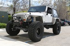 GenRight Legend Suspension on a 2005 Jeep Wrangler LJ.