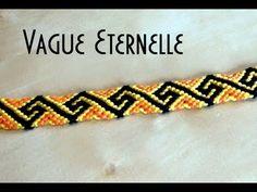Bracelet Brésilien Vague éternelle (avancé)