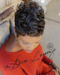 "379 Likes, 3 Comments - The Diva Lounge Hair Salon (@thedivaloungehairsalon) on Instagram: ""Short Hair Slayer!! #whereintheworldisannette #abrooks #larnettamoncrief #thedivaloungehairsalon…"""