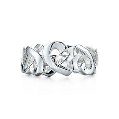 Anillo Paloma Picasso® Loving Heart de plata fina.