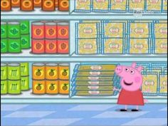 Peppa Pig S01e49 (La spesa) - YouTube