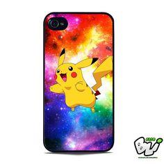Pokemon Pikachu Run In Nebula iPhone 5 Case | iPhone 5S Case
