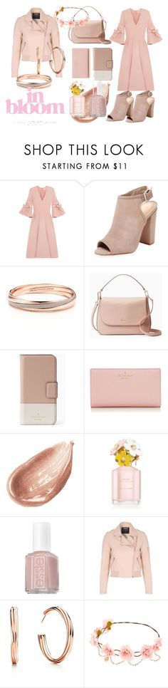 """In bloom"" by colourlover24 ❤ liked on Polyvore featuring Roksanda, Schutz, Kate Spade, Jouer, Marc Jacobs, Essie and Jane Norman"