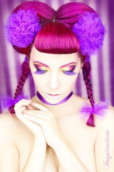 ☆ Alternative Purple ☆彡♥ Reputation Line Inc. NY - Branding 4 Fashion