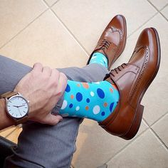 We design crazy socks for men and women. New cool socks launching every month. Designed to be the best socks you've ever worn. High quality funny socks designed to get compliments. Funky Socks, Blue Socks, Colorful Socks, My Socks, Crazy Socks, Mens Fashion Blog, Fashion Moda, Work Fashion, Men's Fashion