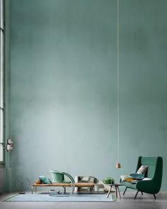 Blueish green, lovely!
