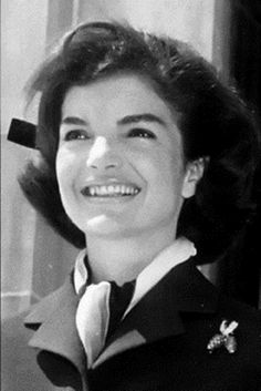 Jacqueline Kennedy- isn't she beautiful?