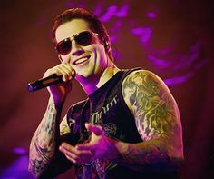 Matt Sanders aka M. Shadows!