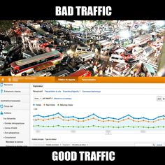 In this world, there are two types of traffic.  #FreeDayFriday