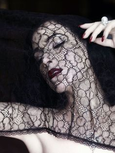 Seductive lace.