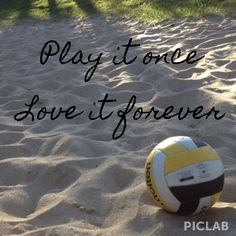 Love it forever #Volleyball