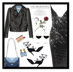 """""""Leather Disco Dress"""" by majezy ❤ liked on Polyvore featuring STELLA McCARTNEY, Gucci and Marco Bicego"""
