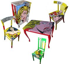 Comic Furniture