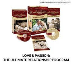 The Ultimate Relationship Program: The ultimate key to creating and experiencing an outstanding, fulfilling relationship. Includes: 4 audio CDs, 6 transformation film DVDs and an action workbook.