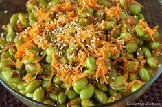 Sesame edamame salad » Low-carb recipes and slow-carb recipes.