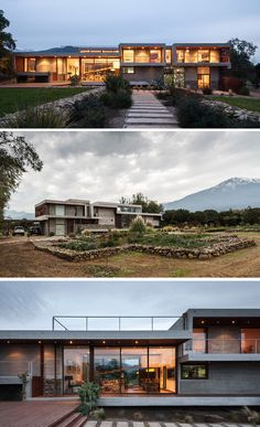Chauriye Stäger Architects Design A Concrete Home In Chile