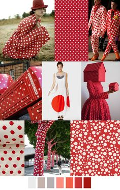 I ❤ COLOR BLANCO + ROJO ♡♡♡ TENDENCIA LUNARES / RED DOTS / TOPITOS #coolhunting #moda #estampados