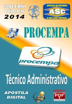 Apostila Concurso Publico Procempa Tecnico Administrativo 2014