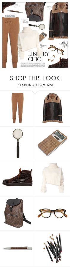 """""""WORK HARD, PLAY HARD: FINALS SEASON"""" by larissa-takahassi ❤ liked on Polyvore featuring Eres, Balenciaga, LEXON, Ann Demeulemeester, Louis Vuitton, Oliver Peoples, Faber-Castell, Bobbi Brown Cosmetics, louisvuitton and christianlouboutin"""